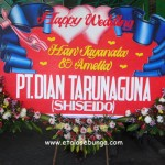 Bunga Papan Wedding 07