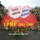 Bunga Papan Wedding 10