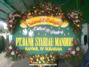 Bunga Papan Wedding 11