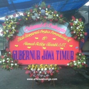 Bunga Papan Wedding 12