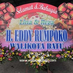 Bunga Papan Wedding 05